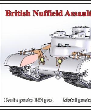 1/72 British Nuffield Assault Tank A.T.3