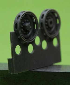 1/72 Idler wheel for M24 Chaffee
