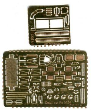 1/72 Detail set for M24 Chaffee (OKB)