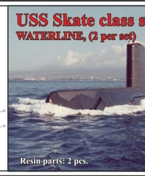 USS Skate class submarine,WATERLINE, (2 per set)