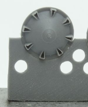 1/72 Idler wheel for Pz.II, type 3