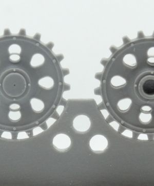 1/72 Sprockets for Pz.III ausf. A/B