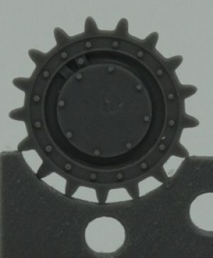 1/72 Sprockets for T-28, early