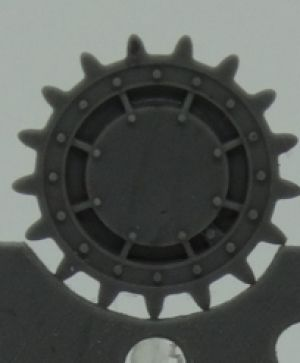 1/72 Sprockets for T-28, late