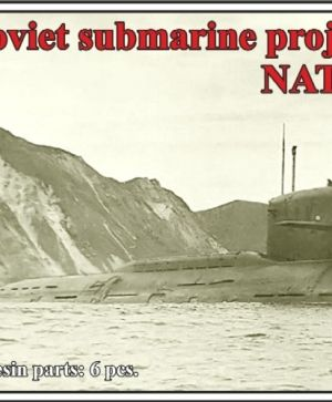 Soviet submarine project 667 A Navaga (NATO name Yankee I),WATERLINE, (2 per set)