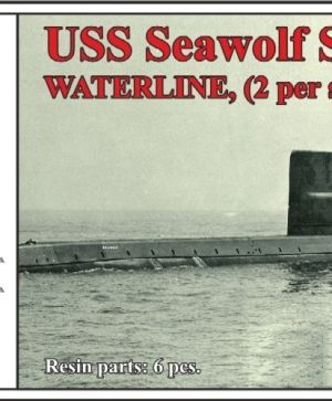 USS Seawolf SSN-575,WATERLINE, (2 per set)