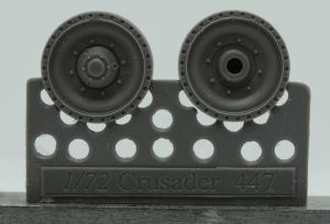 1/72 Wheels for Crusader and Covenanter, type 2