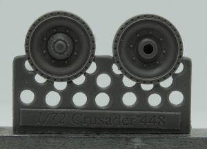 1/72 Wheels for Crusader and Covenanter, type 3