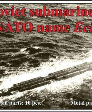 Soviet submarine project 675 (NATO name Echo II)