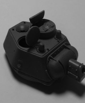 1/72 Turret for Т-34-76 mod. 1943 with commander cupola
