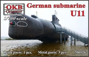 1/700 German submarine U11