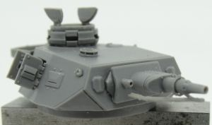 1/72 Turret for Pz.IV, Ausf. F