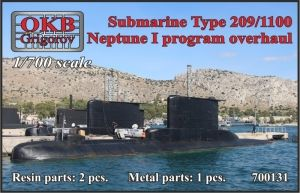 1/700 Submarine Type 209/1100, Neptune I program overhaul