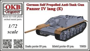 1/72 German Self Propelled Anti-Tank Gun Panzer IV lang (E)