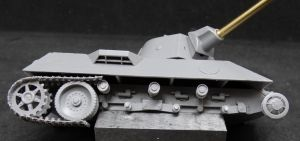 1/72 German Medium Tank VK.3002 (DB) with susspension type I