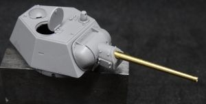 1/72 Turret for T-34-76, proposal for welded hexagonal turret (B72025)
