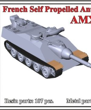 French Self Propelled Anti-Tank Gun AMX Mle.48