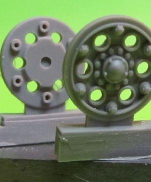 1/72 Sprocket wheel for T-34,mod.1940 type 3