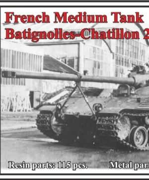 French Medium Tank Batignolles-Chatillon 25t