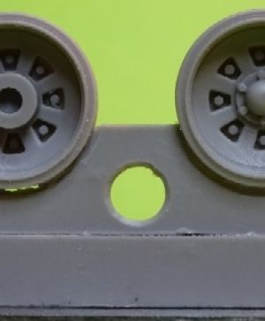 1/72 Wheels for T-72, early