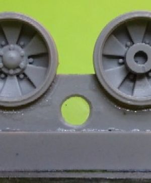 1/72 Wheels for T-90 late