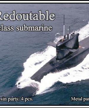 1/700 Redoutable class submarine