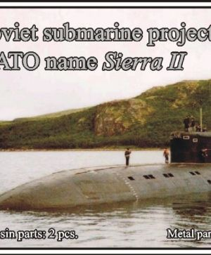 1/700 Soviet submarine project 945A Condor (NATO name Sierra II)