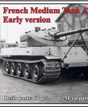 French Medium Tank AMX-50-100, Early version