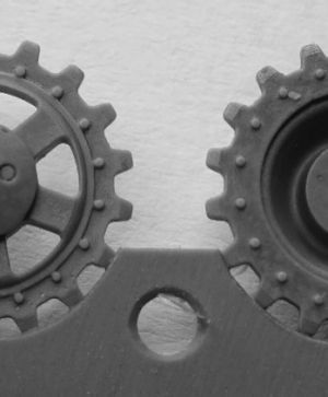 1/72 Sprockets for Pz.V Panther, 18 tooth type 1