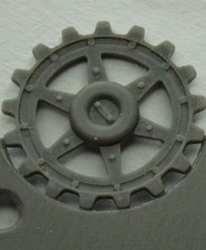 Sprockets for Pz.V Panther, 17 tooth type 1