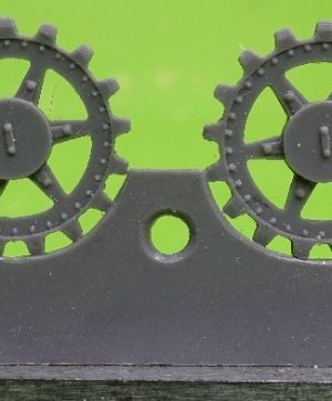 1/72 Sprockets for Pz.V Panther, 17 tooth type 4
