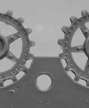 1/72 Sprockets for Pz.V Panther, 17 tooth type 2