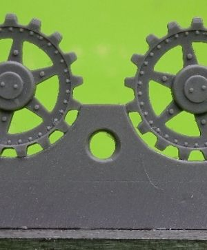1/72 Sprockets for Pz.V Panther, 17 tooth type 3