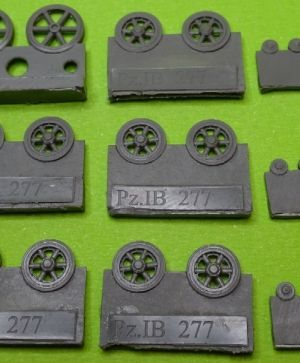 1/72 Wheels for Pz.I Ausf.A