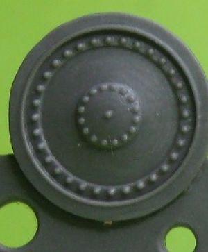 1/72 Wheels for Hetzer, type 2